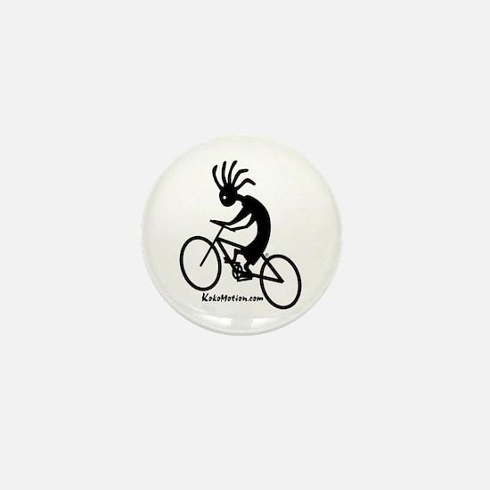 Kokopelli Mountain Biker Mini Button