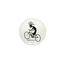 Kokopelli Mountain Biker Mini Button (10 pack)