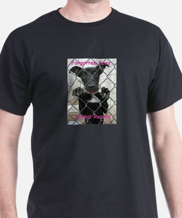 Forgotten Paws Logo T-Shirt