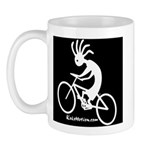 Kokopelli Mountain Biker Mug