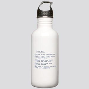The To-Do List Stainless Water Bottle 1.0L