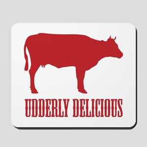 BBQ is Udderly Delicious Mousepad