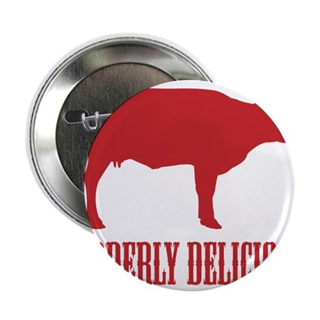 "BBQ is Udderly Delicious 2.25"" Button"