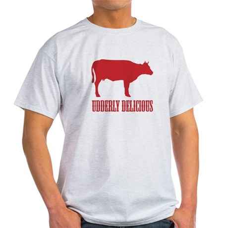BBQ is Udderly Delicious Light T-Shirt