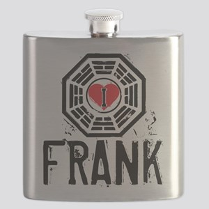 I Heart Frank - LOST Flask