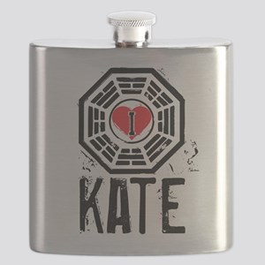 I Heart Kate - LOST Flask