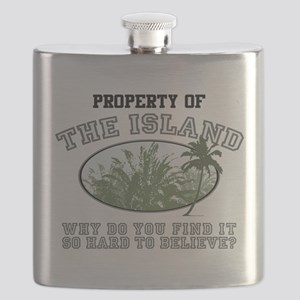 Property of the Island Flask