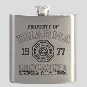 Property of Dharma Initiative - Hydra Station Flas