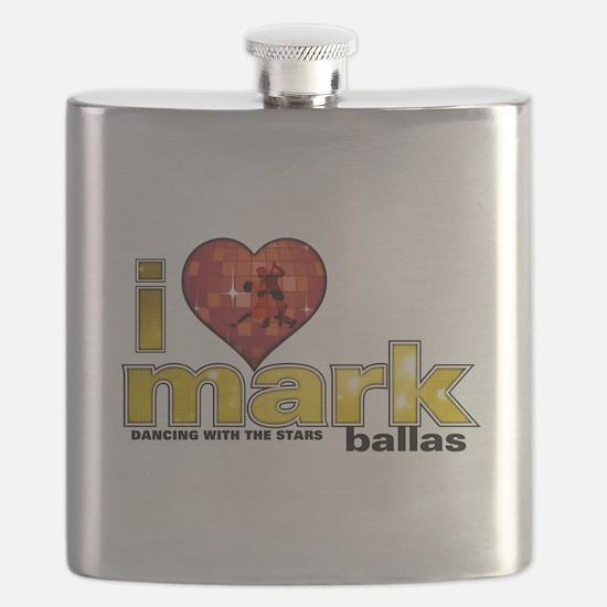 I Heart Mark Ballas Flask