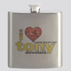 I Heart Tony Dovolani Flask