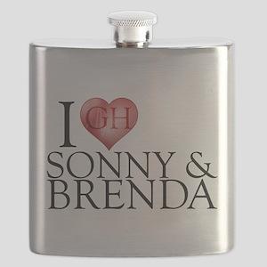 I Heart Sonny & Brenda Flask