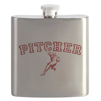 Pitcher - Red Flask