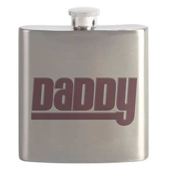 Daddy - Red Flask