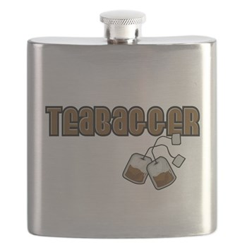 Teabagger Flask