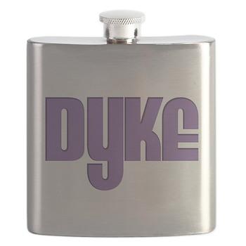 Purple Dyke Flask