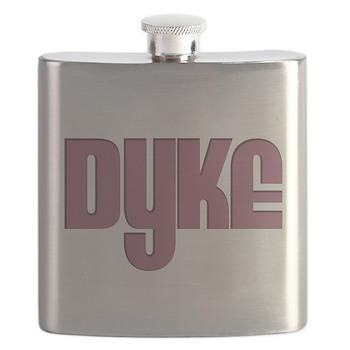 Pink Dyke Flask