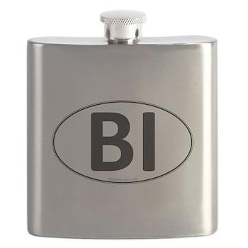 BI Euro Oval Flask