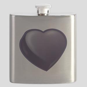 Dark Candy Heart Flask
