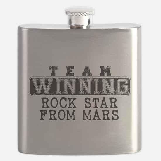 Team Winning - Rock Star From Mars Flask