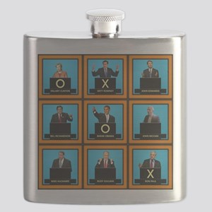Presidential Squares Flask