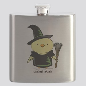 Wicked Chick Flask