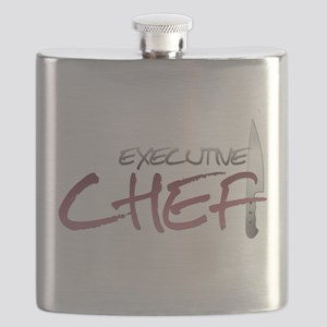 Red Executive Chef Flask