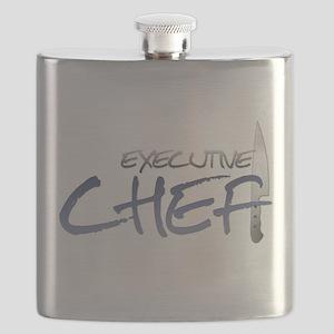 Blue Executive Chef Flask