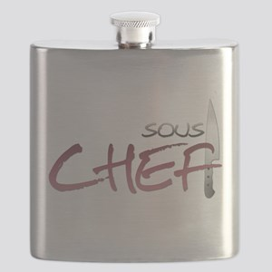 Red Sous Chef Flask