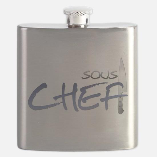 Blue Sous Chef Flask