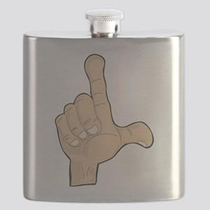 Hand - Loser Fingers Flask