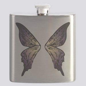 Sunset Butterfly Wings Flask