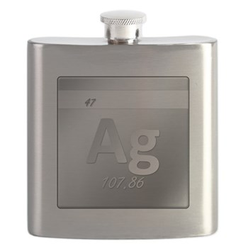 Silver (Ag) Flask