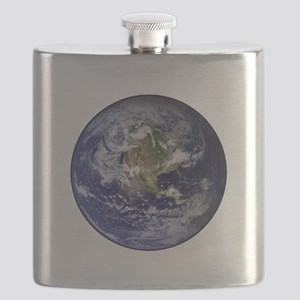 Western Earth from Space Flask