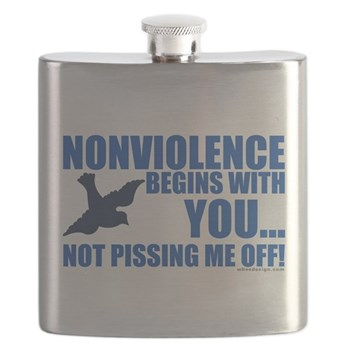 Nonviolence Begins with You.. Not Pissing Me Off!