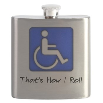 That's How I Roll Flask