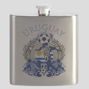 Uruguay Soccer Flask