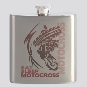 Eat Sleep Motocross Flask