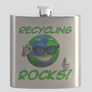 Recycling Rocks! Flask