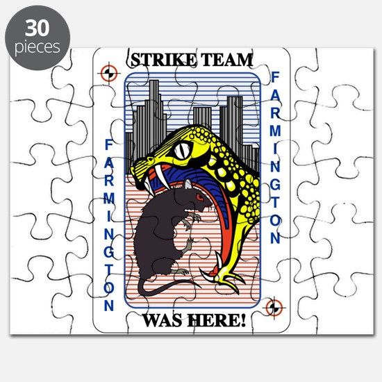 STRIKE TEAM was here Puzzle