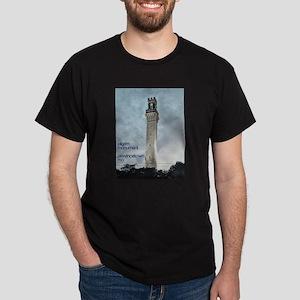 Pilgrim Monument - Blue Dark T-Shirt