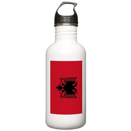 Albania flag 2 Stainless Water Bottle 1.0L