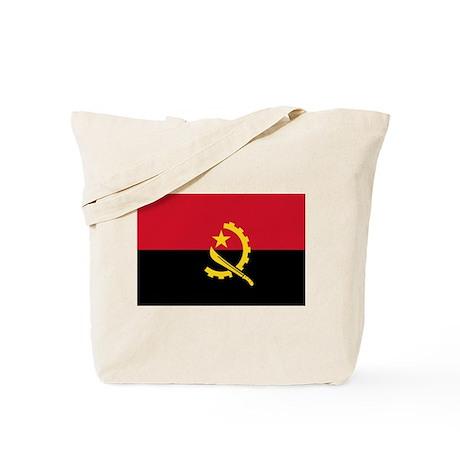 angola flag Tote Bag