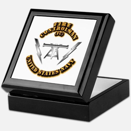 Navy - Rate - FC Keepsake Box