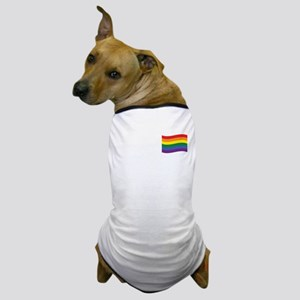 Rainbow Flag Dog T-Shirt