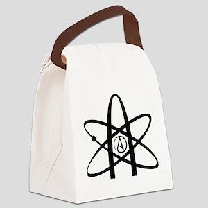 Atheism Symbol Canvas Lunch Bag