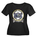 USS HARO Women's Plus Size Scoop Neck Dark T-Shirt