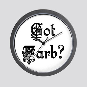 Got Farb? Wall Clock