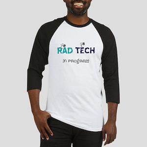rad tech in progress blue Baseball Jersey