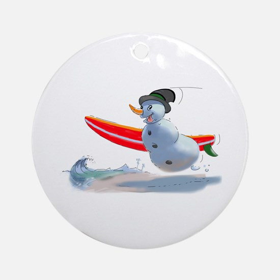 sUrFeR sNoWmAn Ornament (Round)