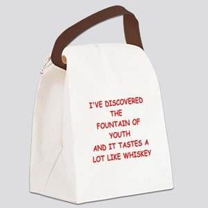WHISKEY Canvas Lunch Bag